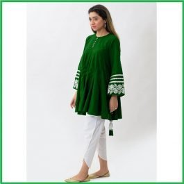 Tassels Embroidered Shirt